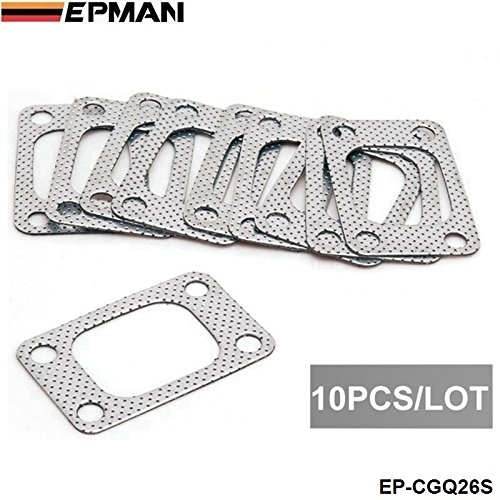 epman universel T3  Bride T34  T35  T38  GT35  gt35r Turbo Mani Fold Outlet Graphite Aluminium Joint EP cgq26s