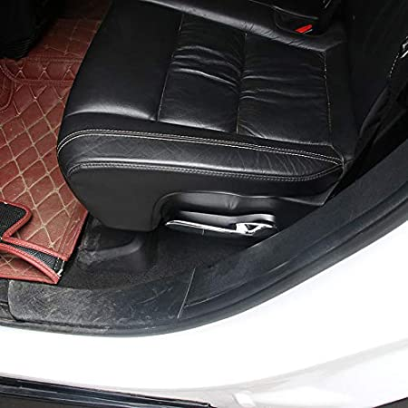 Chromed HIGH FLYING f/ür Grand Cherokee WK2 2011-2018 Hintere Sitz Taste Interieurleisten 2 St/ück ABS Kunststoff