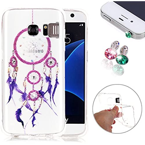 Pershoo Galaxy S7 Case Cover, S7 TPU Case, New Fashion Flash Function Anti-Scratch Ultra Thin Shockproof TPU Bumper Sales