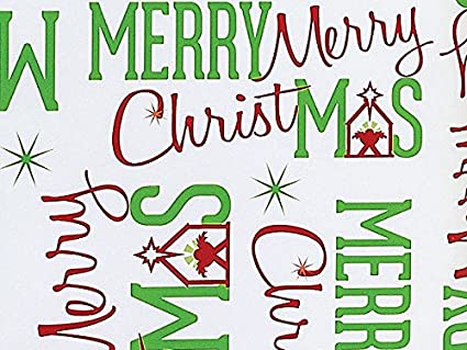 religious christmas wrapping paper redgreen manger merry christmas gift wrap - Religious Merry Christmas