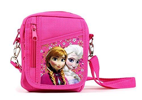 Disney Frozen Detachable Lanyard Messenger Shoulder Bag (PINK) ()