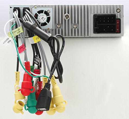 BOSS Audio BV7320 In Dash Single Din Detachable Screen DVD CD USB SD MP4 MP3