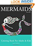 Mermaids: Coloring Book for Adults &...