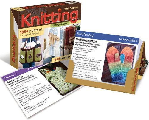 (Knitting: 2011 Day-to-Day Calendar by Accord Publishing (2010-07-15) )
