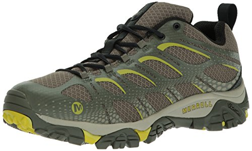 Merrell Men's Moab Edge Hiking Shoe, Dusty Olive, 10 M US - Edge Olive