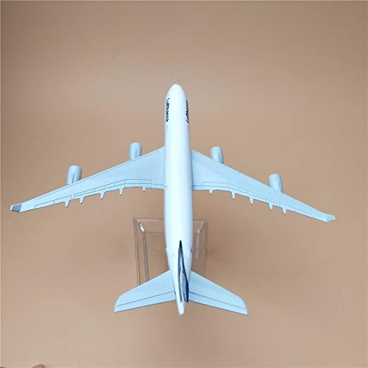 Amazon com : 1:400 16cm Air Bus A380 Lufthansa Airlines Metal