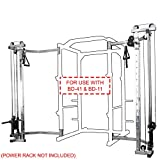 Valor Fitness BD-CC2.5 Cage Cable Crossover Attachment for BD-11 or BD-41