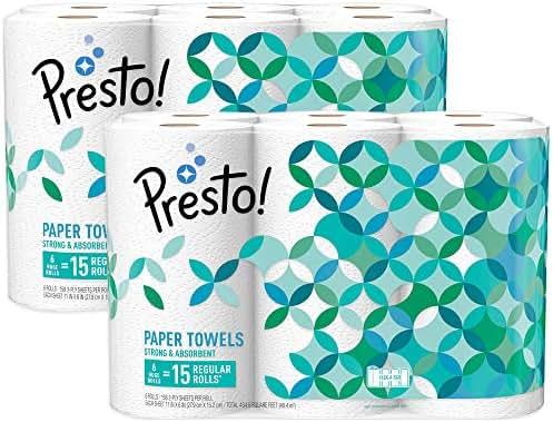 Paper Towels: Presto!