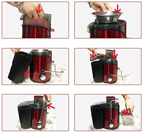 RMXMY El exprimidor Original de zumos de Frutas Fritas para el hogar Puede ser una escoria automática, práctica, Simple, exprimidor