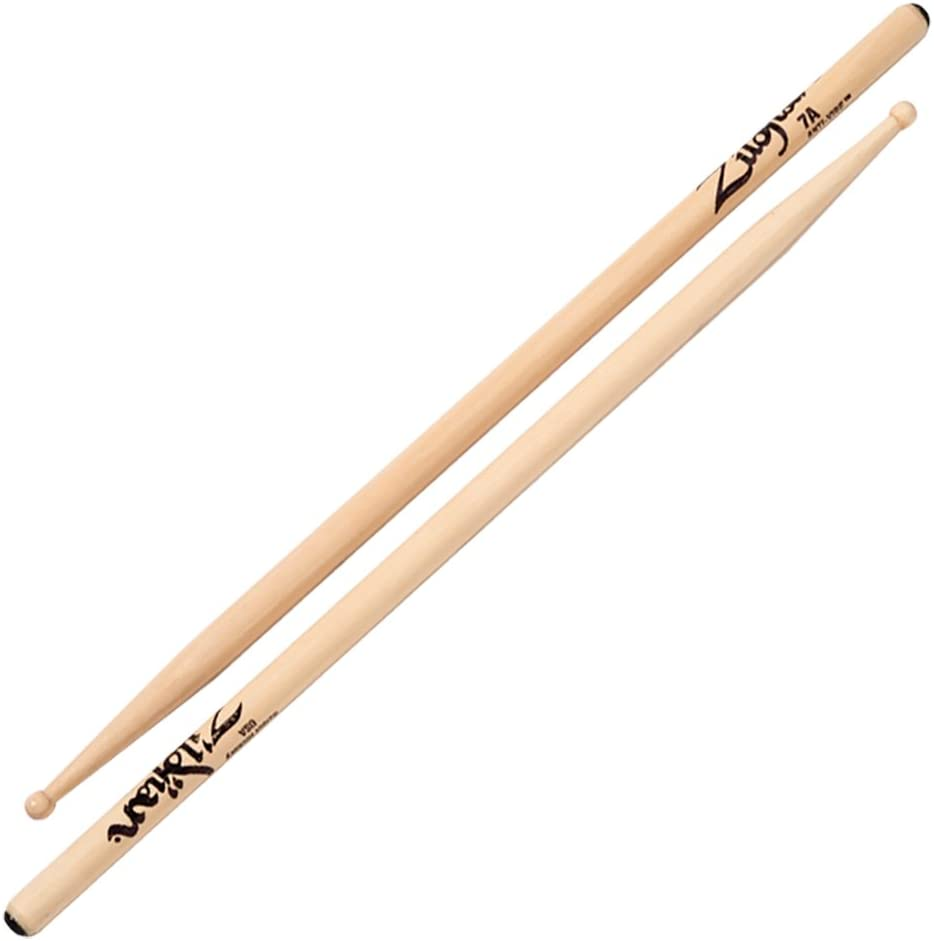 Zildjian Nylon Anti-Vibe 7A Drumsticks – Best for fast playing