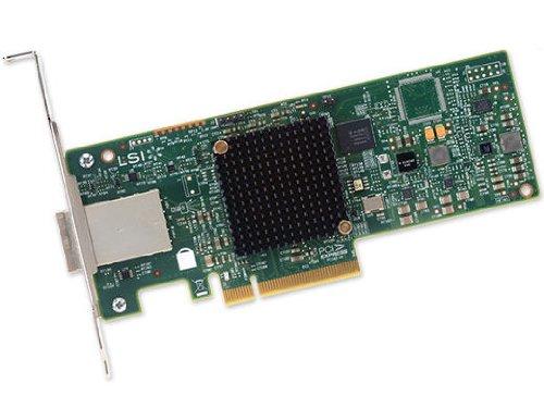 LSI LSI00343 9300-8e 12Gbps 8 Port SAS SGL PCI-E Host Bus Adaptor Avago