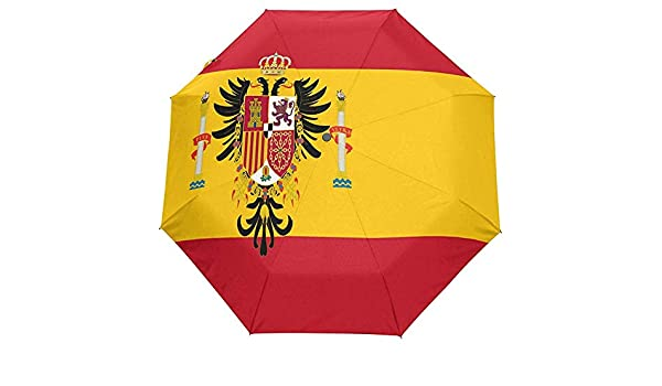 Merle House Paraguas Bandera española Golf Viajes Sol Lluvia ...