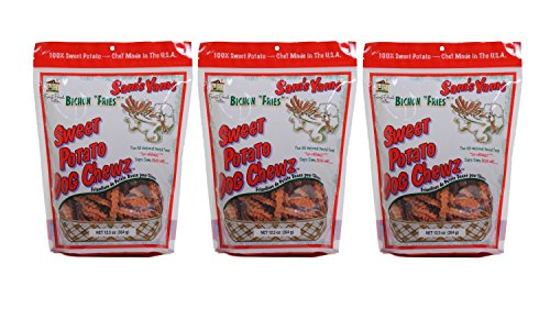Sam's Yams Bichon Fries - Sweet Potato Dog Chewz, 12.5oz by Sam's Yams