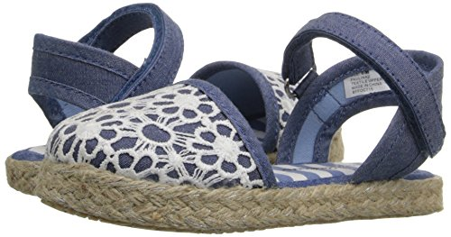 Hanna Andersson Paulina Girl's Espadrille(Toddler/Little Kid/Big Kid), Chambray, 8 M US Toddler by Hanna Andersson (Image #6)