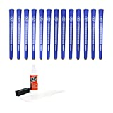 Avon Chamois Blue-13 Piece Golf Grip Kit (with Tape, Solvent, Vise Clamp)