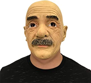 Adults Masks Halloween Latex Head Masks,Haunted House Old Man and Women Monste Grimace Costume Horror Zombie Funny Scary Creepy Ghost Fancy Dress