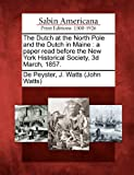 The Dutch at the North Pole and the Dutch in Maine, , 1275849253