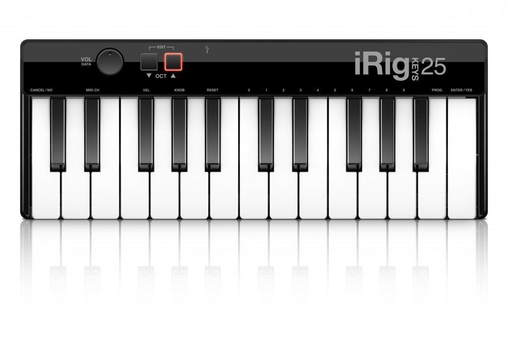 IK Multimedia IP-IRIG-KEYS25-IN - Teclado MIDI product image