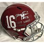 c5f5ff94f Tua Tagovailoa Signed Autographed Alabama Crimson Tide Full Size Football  Helmet.