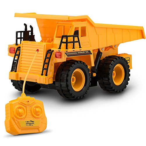 Dump Truck Control : Kids electronics toydaloo remote control toy construction