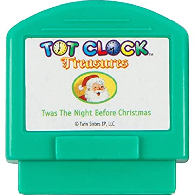 Tot Clock Treasures: Christmas Set (TWAS The Night Before Christmas and The Story of Santa Claus) (Compatible with New & Improved Tot Clock only): Home & Kitchen