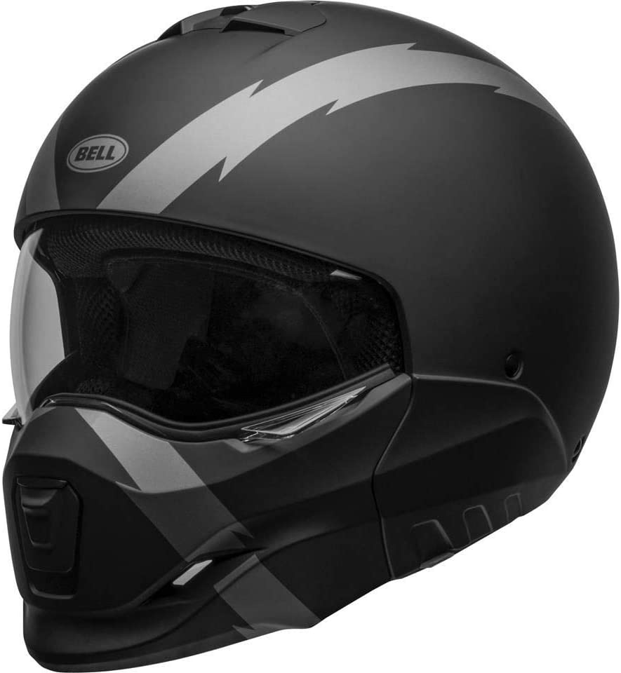 BELL HELMET BROOZER ARC MATTE BLACK//GREY L