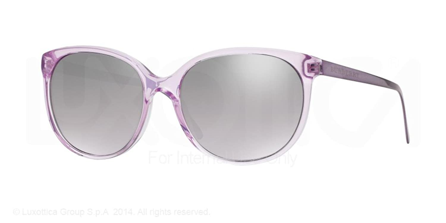 11ca6d412efe Burberry Women's BE4146 Sunglasses, Purple (Violettc Violet 34816V), One  Size: Amazon.co.uk: Clothing