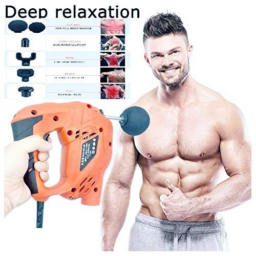 Vibrating Back Muscle Massager After Sports Fitness Outwork Electric,Massager Pain Relieffor Back Shoulder Neck Leg -