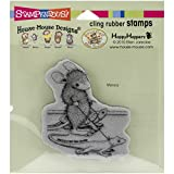 Stampendous Cling Rubber Stamp, Reptile Walk