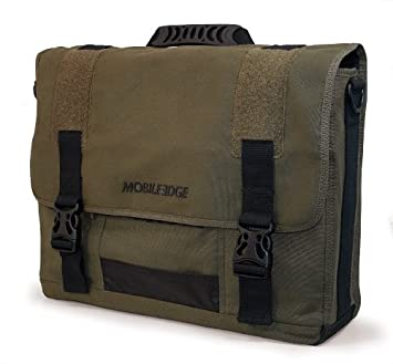 17.3-Inch Eco-Friendly Canvas Messenger Bag