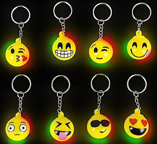 happy deals Emoji light keychains
