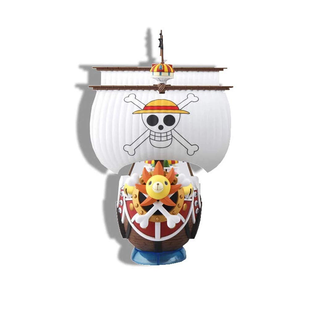 1749 GLJJQMY Toy Model Anime Character One Piece Decoration Souvenir Collectibles Crafts Gifts Thief Boat Wanli Sunshine 21cm Model Toys