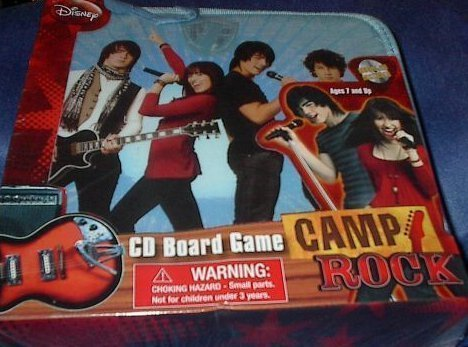 Cardinal Industries Camp Rock CD Board - Game Cd Puzzle