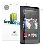 GreatShield (3 Pack) Ultra Anti-Glare (Matte) Clear Screen Protector Film for Amazon Kindle Fire