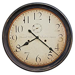 Howard Miller Wall Clock 625-627 Squire