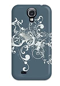 Diy iphone 5 5s case Tpu Case Cover For Galaxy S4 Strong Protect Case - Vector Design