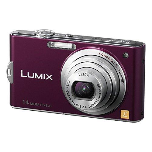 Panasonic デジタルカメラ ルミックス ノーブルバイオレットDMC-FX66-V