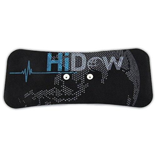 Hi-Dow Lower Back / Shoulder Electrode Gel Pads For TENS Massage EMS Premium (Low Back Electrode)