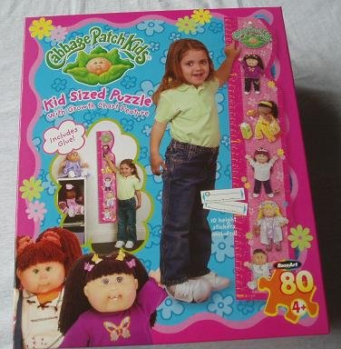 CABBAGE PATCH KIDS Kid Size Puzzle (Cabbage Patch Puzzle)