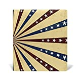 Book Covers Notebook Textbook Jumbo School Educational Supply Office Homecoming American Flag Brown