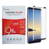 Galaxy Note 8 Tempered Glass Screen Protector, Case Friendly 3D Touch Edge to Edge Anti-Scratch Anti-Shatter Hd Clear Full Coverage Protective Film Cover for Samsung Note8 Smart Phone (black-1)