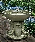 Campania International FT-242-EM Zen III Fountain, English Moss Finish