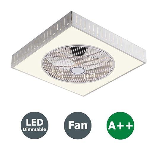 XMYX Ventilador de Techo Ventilador LED Luz de Techo con Control ...