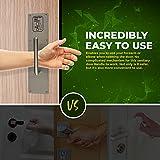 Petra Wrist Pull Hands-Free Door Handle, Heavy Duty