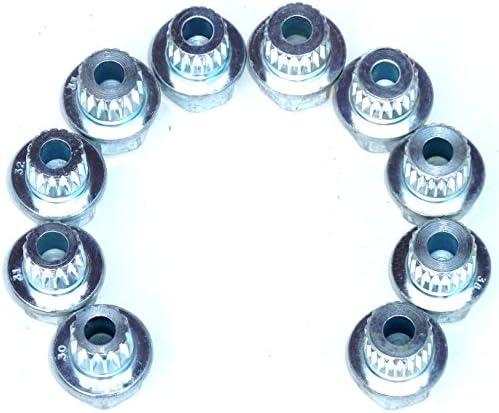 4Pcs M12 x 1.5mm Radschloss Diebstahlsicherungsschraube Radmutter F/ür Autos 36136786419