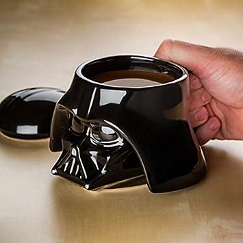 Star Wars Mug Stormtrooper Helmet 3D Ceramic Coffee Mug with Removable Lid