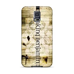 Protector Hard Phone Cases For Samsung Galaxy S5 With Customized Nice Breaking Benjamin Band Series MansourMurray
