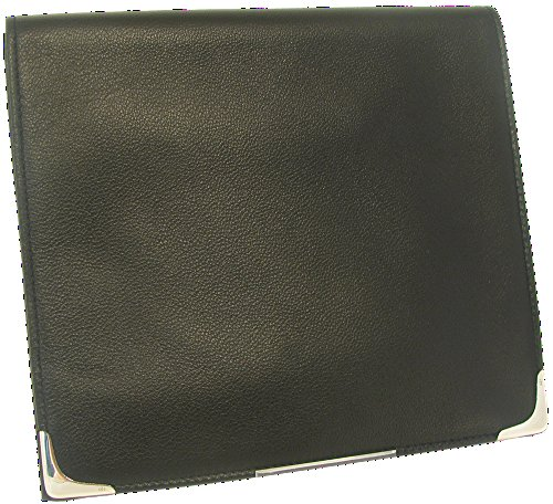 Martin Wess Silverline Metis Nappa Leather Large Roll Up Tobacco Pouch with 925 Sterling by Martin Wess