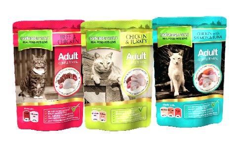 Natures Menu Cat Multipack, 4 x 12 x 100 g