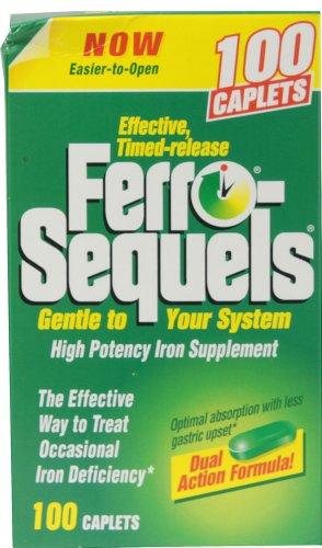Ferro-secuelas tabletas 100 tabletas por INVERNESS MEDICAL INC.